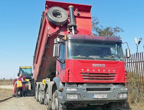 Modernizarea drumului de acces către Baza Aeromedicală SMURD Constanța