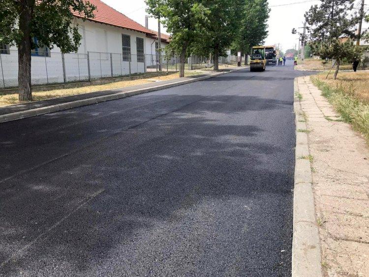 Tot mai multe străzi din cartierul Palazu Mare sunt modernizate