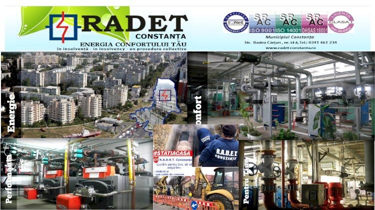 R.A.D.E.T. Constanța - Avarie rețea de transport