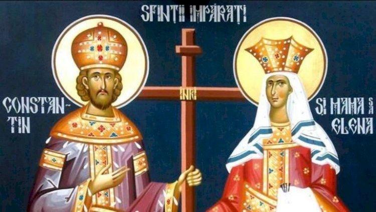 Sfinţii Constantin şi Elena. Tradiţii, credinţe populare şi semnificaţii