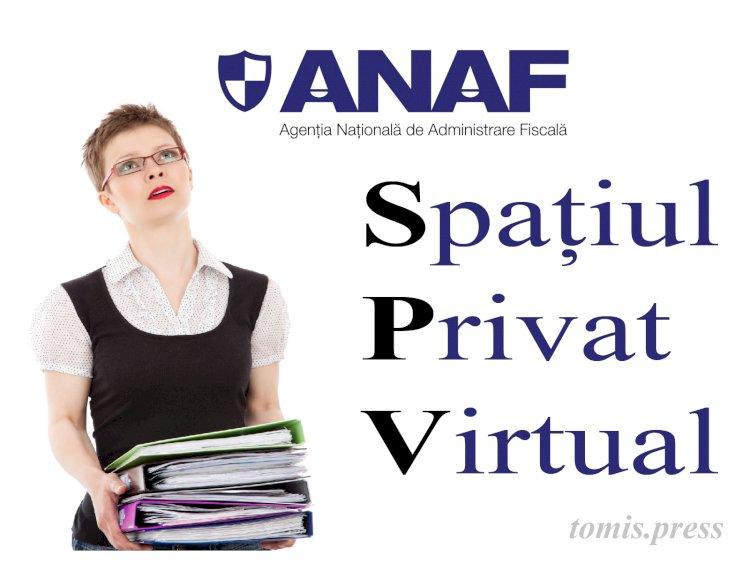 Mai multe documente în Spațiul Virtual Privat de la ANAF