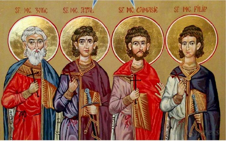 Sfinții patru martiri de la Niculițel