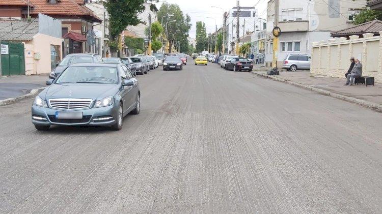 Trafic restricționat total pe un tronson al străzii I.G. Duca