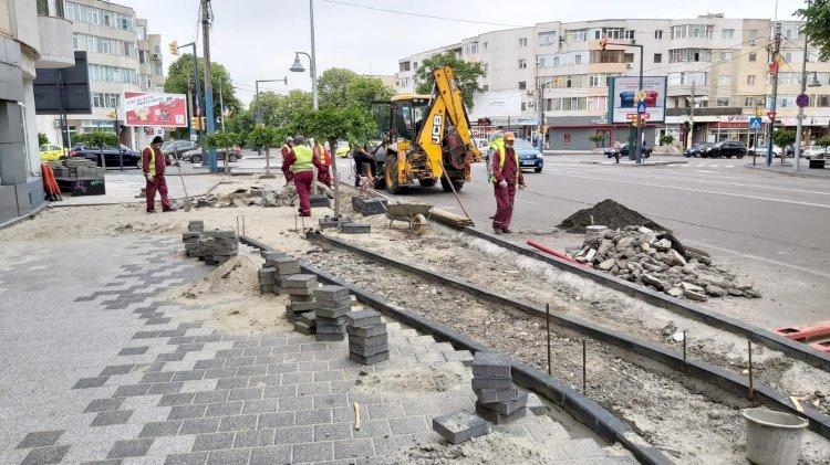 Intervenții pe marile bulevarde și străzi construite de la zero în luna iunie