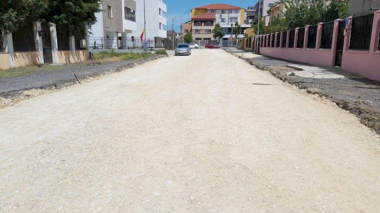 Amenajare infrastructură străzi în cartierul Compozitorilor