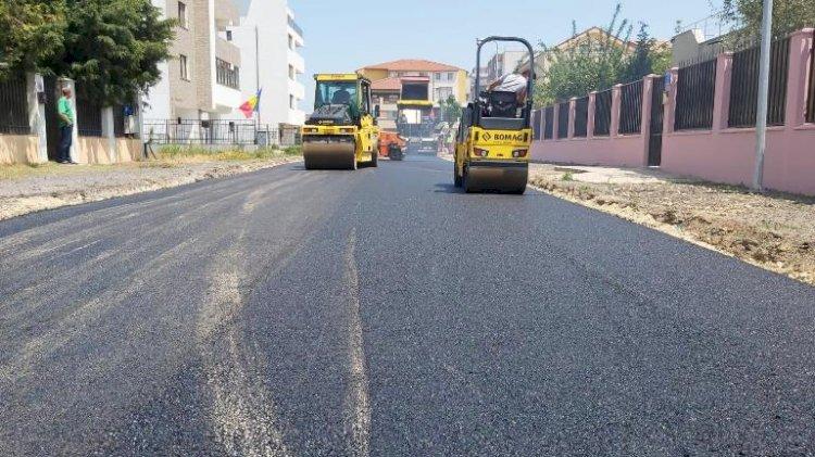 Strada Paul Constantinescu din Constanța a fost asfaltată