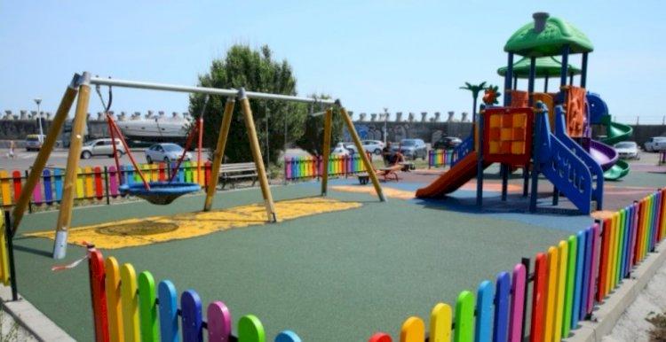 Locul de joacă din Portul Tomis se transformă în zonă de agrement