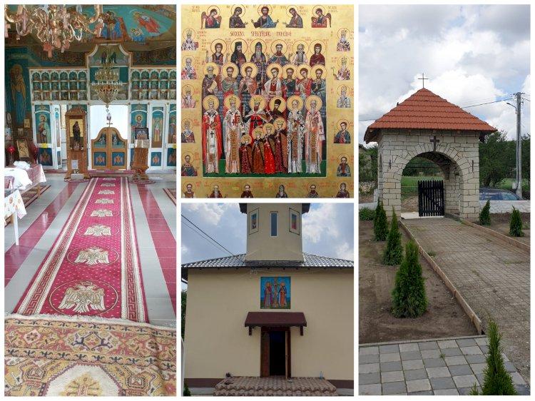 Sfințire de biserică și hram la mănăstirea Galeșu