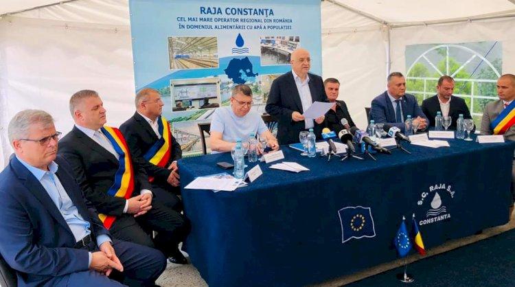 A fost semnat contractul Rețele apă și canalizare Crevedia