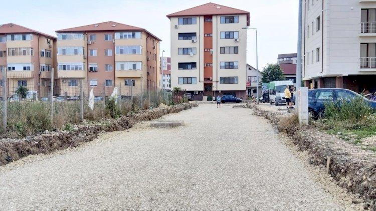 Trotuare și noi locuri de parcare
