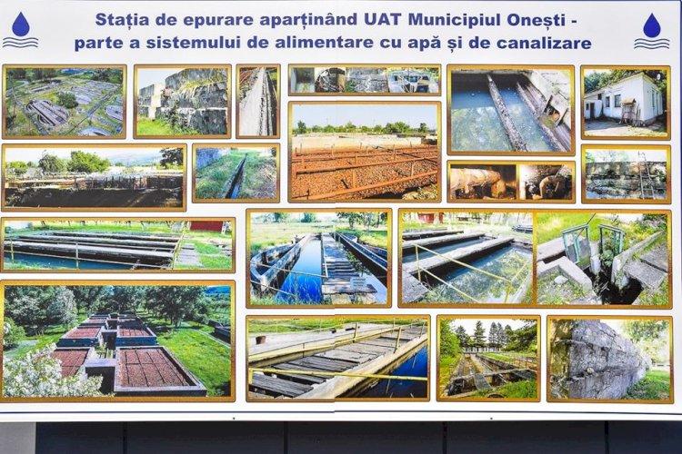 A fost semnat contractul pentru Reabilitarea și modernizarea stației de epurare din municipiul Onești