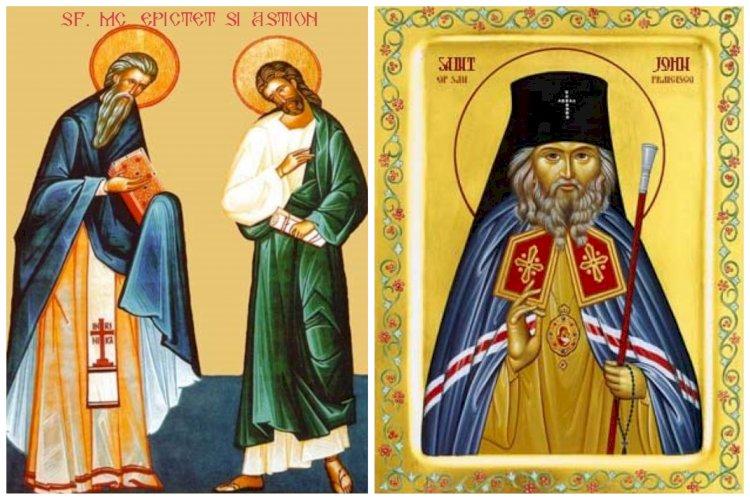 Trei ierarhi la primul hram al paraclisului mănăstirii Văcăreștii Noi - Lumina