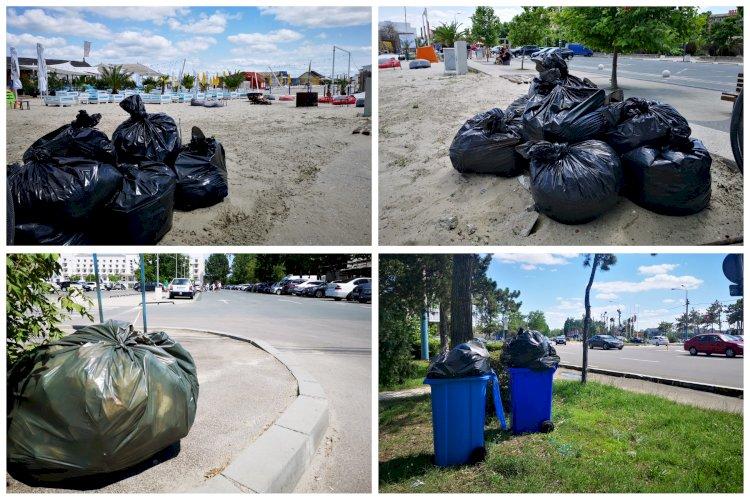 Ce amenzi riscă agenții economici din stațiunea Mamaia care nu respectă graficul de ridicare a deșeurilor?