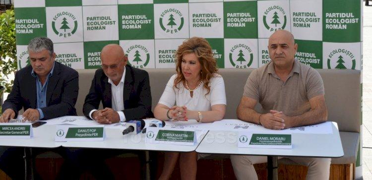 Corina Martin şi-a anunţat candidatura la Primăria Constanţa din partea Partidului Ecologist Român