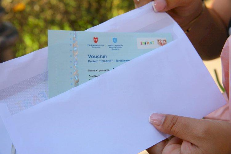 Au fost înmânate primele vouchere pentru fertilizarea in vitro acordate de Primăria Constanța