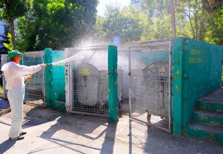 Zonele în care se acționează astăzi pentru dezinfecția platformelor de deșeuri