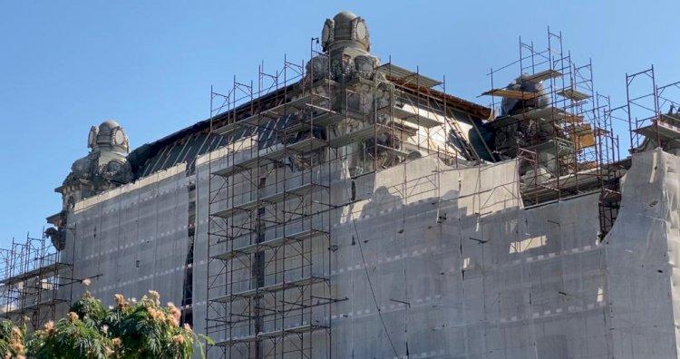 Lucrările de restaurare la Cazinoul din Constanța avansează riguros