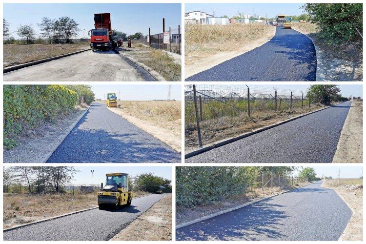 Se asfaltează drumul de acces către Baza Aeromedicală SMURD Constanța