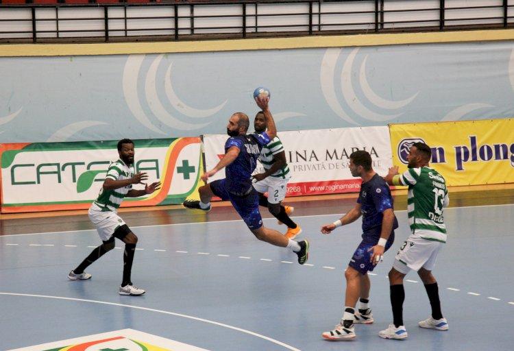 EHF European League: HCDS Constanța vs Sporting Lisabona 27-27, în prima manșă din turul secund