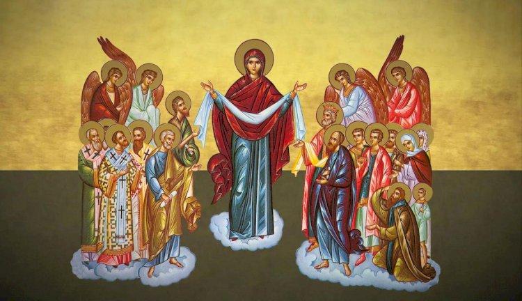 Praznicul Acoperământul Maicii Domnului
