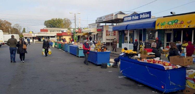 Piețarii din Constanța, mutați în exterior. Ce piețe mai sunt deschise în oraș?