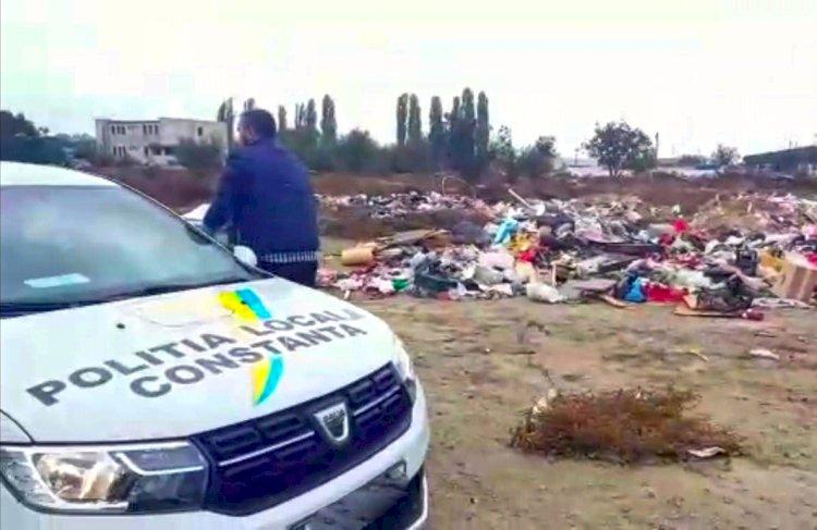 Constanța: 40.000 lei amendă pentru aruncarea gunoiului în loc nepermis