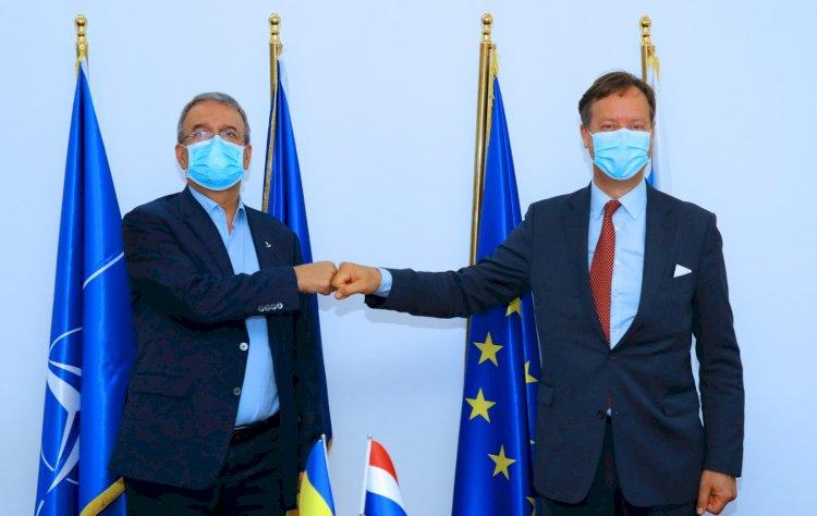 Vizita de curtoazie a ambasadorului Regatului Țărilor de Jos, la Constanța