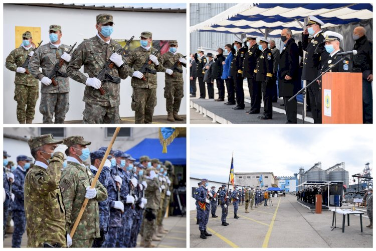 FOTO Ziua Scafandrilor Militari și Scafandrului Român, celebrată la Constanța