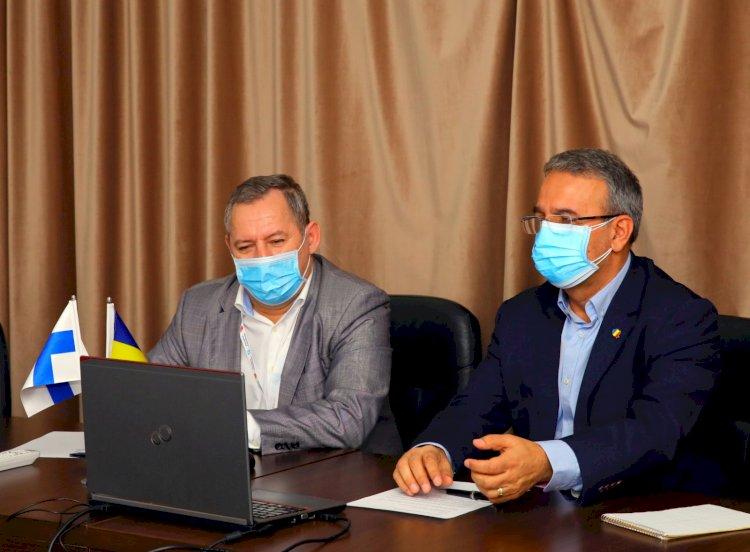 Primarul Vergil Chițac, discuție online cu ambasadorul Republicii Finlanda în România