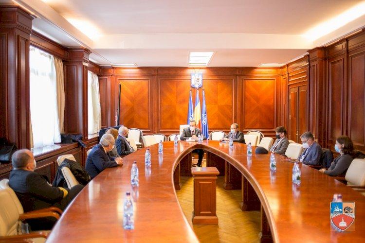 Președintele CJC, Mihai Lupu,întâlnire de lucru cu rectorii și președinții senatului universităților din Constanța