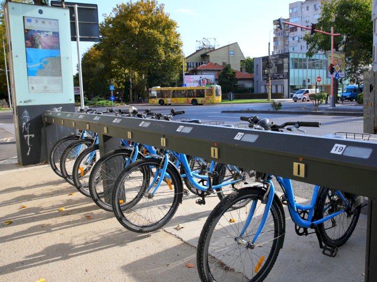 Constănțenii mai pot folosi doar câteva zile bicicletele puse gratuit la dispoziția lor de municipalitate