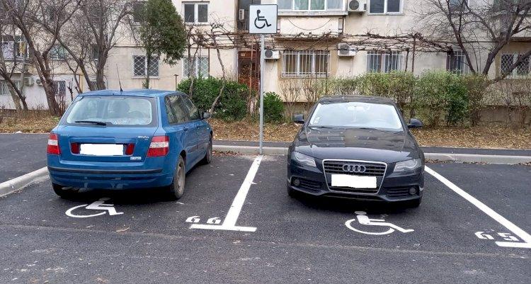 Polițiștii locali constănțeni au efectuat acțiuni de ridicare a mașinilor parcate neregulamentar