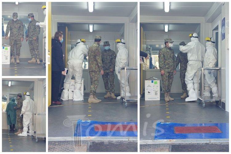 8.775 de doze de vaccin anti-Covid au ajuns la Spitalul Militar Constanța