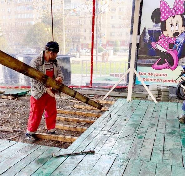 21 de terase amenajate abuziv pe domeniul public, demolate