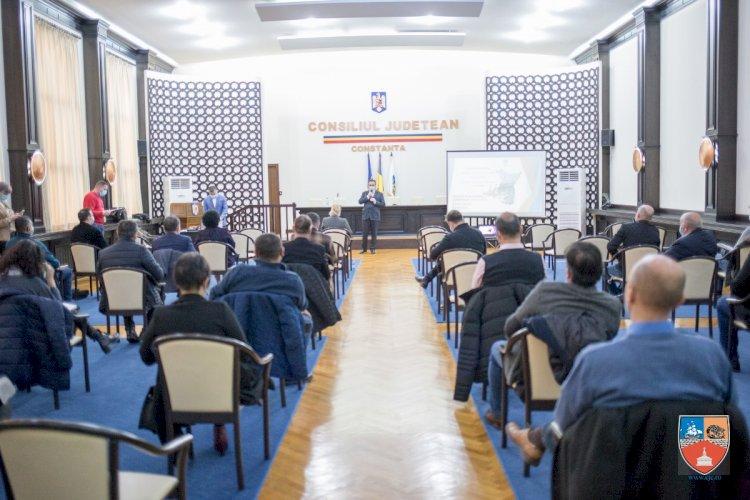Președintele CJC, întâlnire cu primarii din județul Constanța