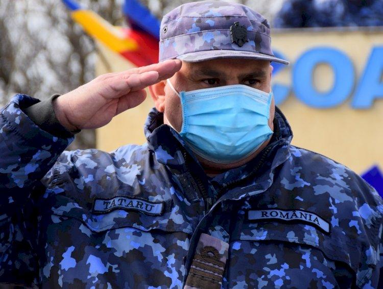 Noul comandant al Şcolii de Aplicaţie a Forţelor Navale este Neculai Tătaru