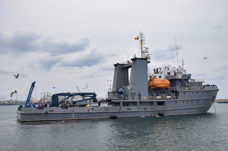 Misiuni de luptă contra minelor în Marea Ionică