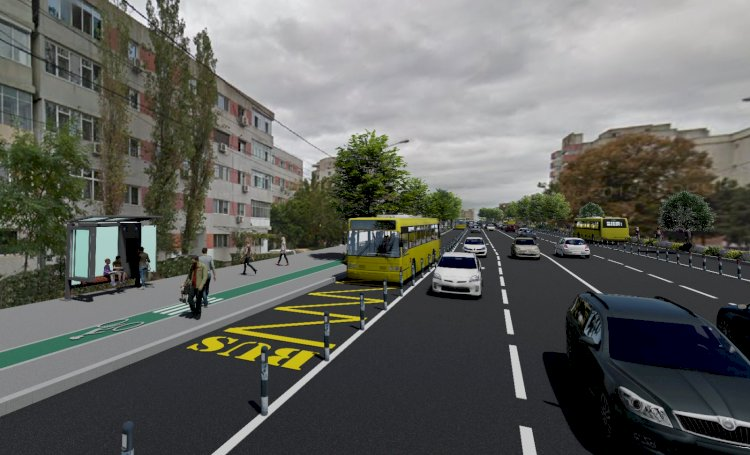 Vergil Chițac anunță că începem lucrările de modernizare a bulevardelor 1 Decembrie 1918 și Al. Lăpușneanu