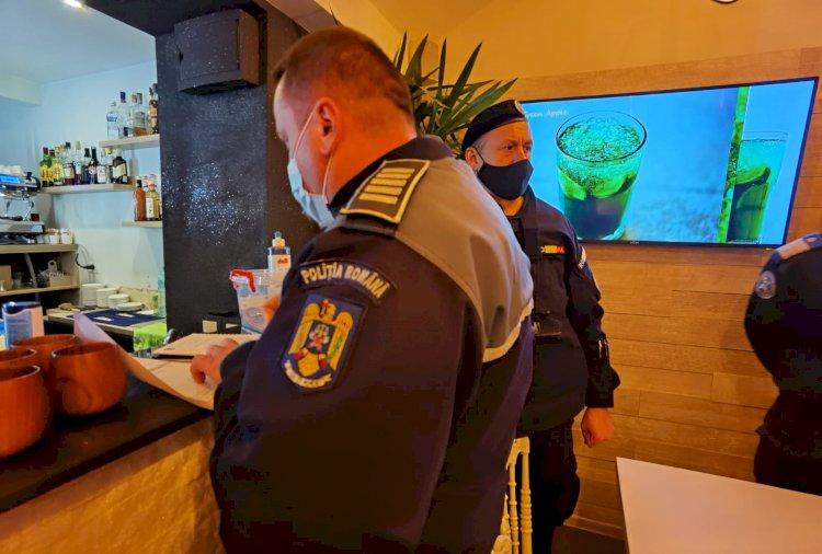 Mai multe localuri din Constanța și Năvodari, sancționate contravențional de oamenii legii