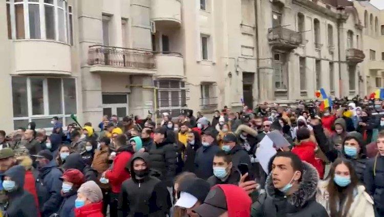 Amenzi de peste 82.000 de lei în urma protestului de la Constanța