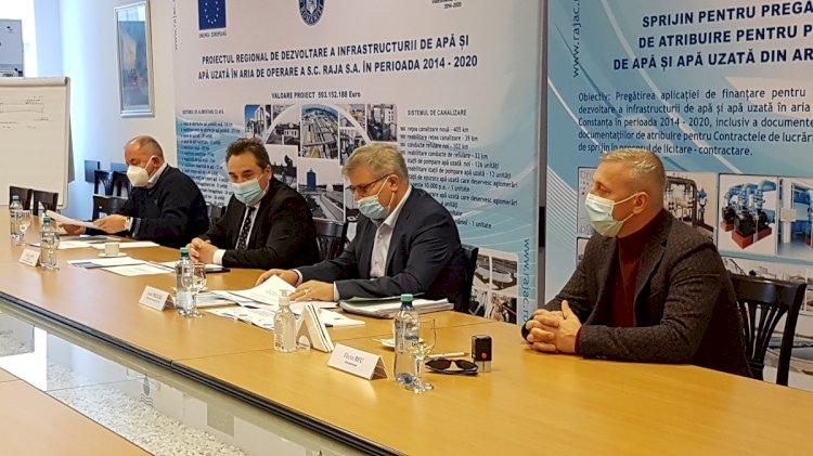 Rețea nouă de apă și de canalizare pentru locuitorii din Cernavodă, Făclia, Tortoman, Mircea Vodă și Satu Nou