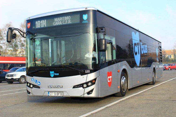De astăzi, autobuzele CT BUS vor circula doar până la ora 22.00!