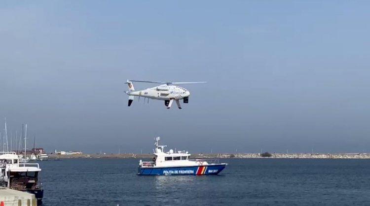 O dronă de mari dimensiuni va supraveghea zona de coastă a Mării Negre
