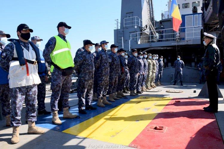 Misiunea în Marea Ionică a navei hidrografice Căpitan-comandor Alexandru Cătuneanu, încheiată cu succes