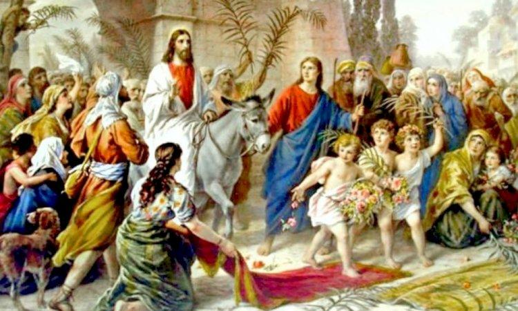 FLORIILE, cea mai importantă sărbătoare care vestește Paștele