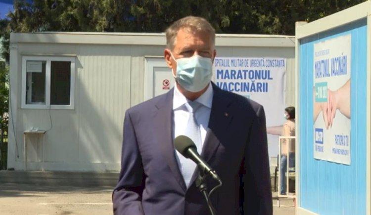 Iohannis: Pandemia nu a dispărut. Nu trebuie să lăsăm garda jos. Vă invit pe toți să vă vaccinați!