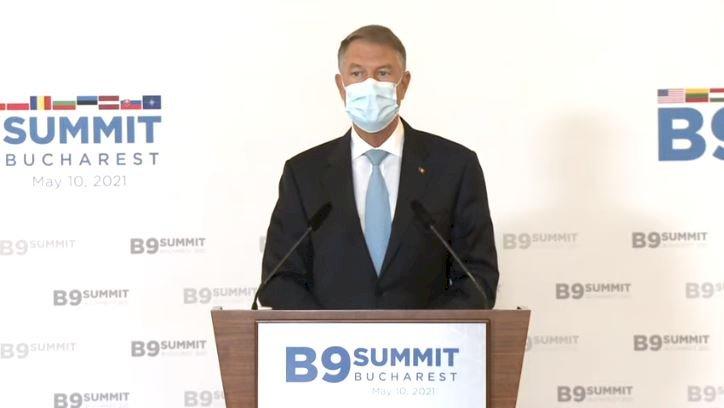 Iohannis, după Summitul B9: Situația de securitate de la Marea Neagră este îngrijorătoare