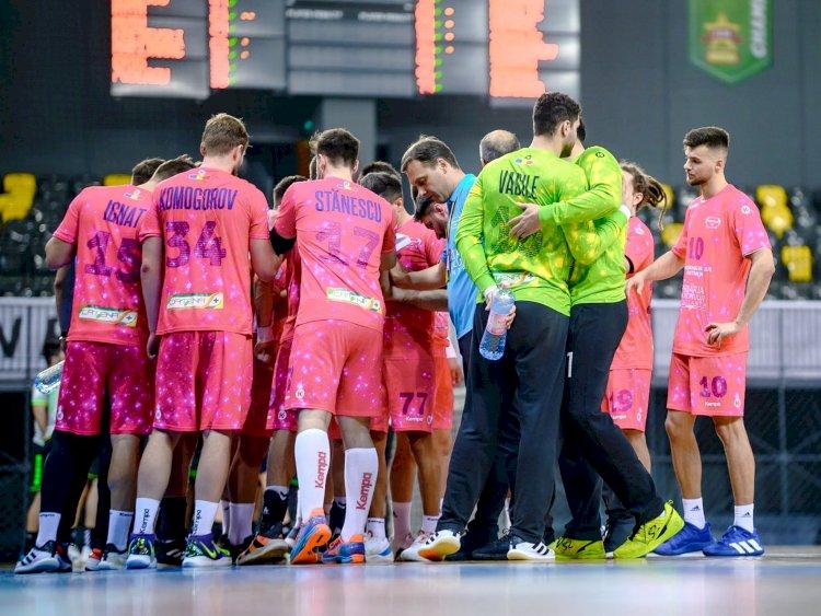 AHC Dobrogea Sud a învins echipa CSM Vaslui, scor 33-32 în penultima etapă a Ligii Naționale de handbal masculin