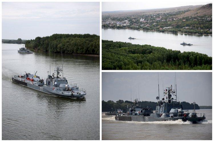 Activități complexe de instrucție pe fluviul Dunărea