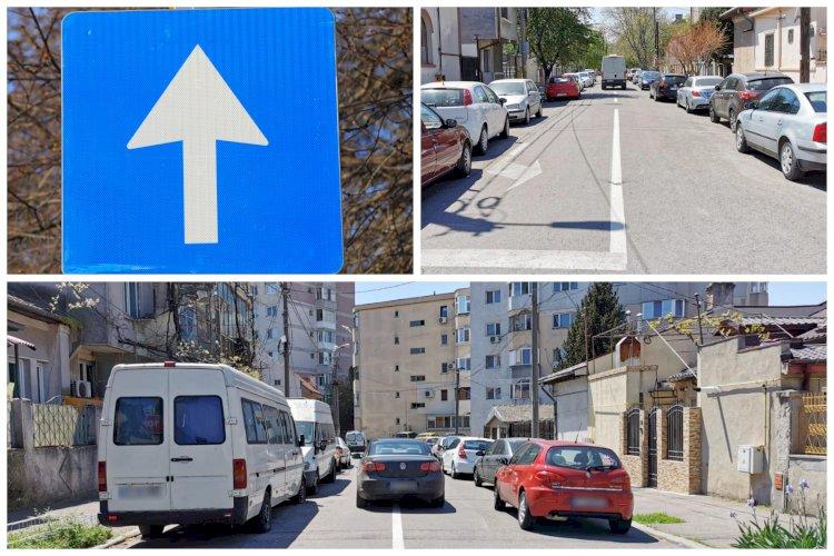 Atenție, șoferi! De astăzi se instituie 16 noi sensuri unice în zona centrală a orașului